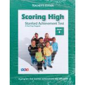 Scoring High on Stanford (SAT/10) - Teacher Book Only